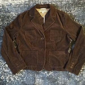{Tommy Hilfiger} Brown Corduroy Jacket